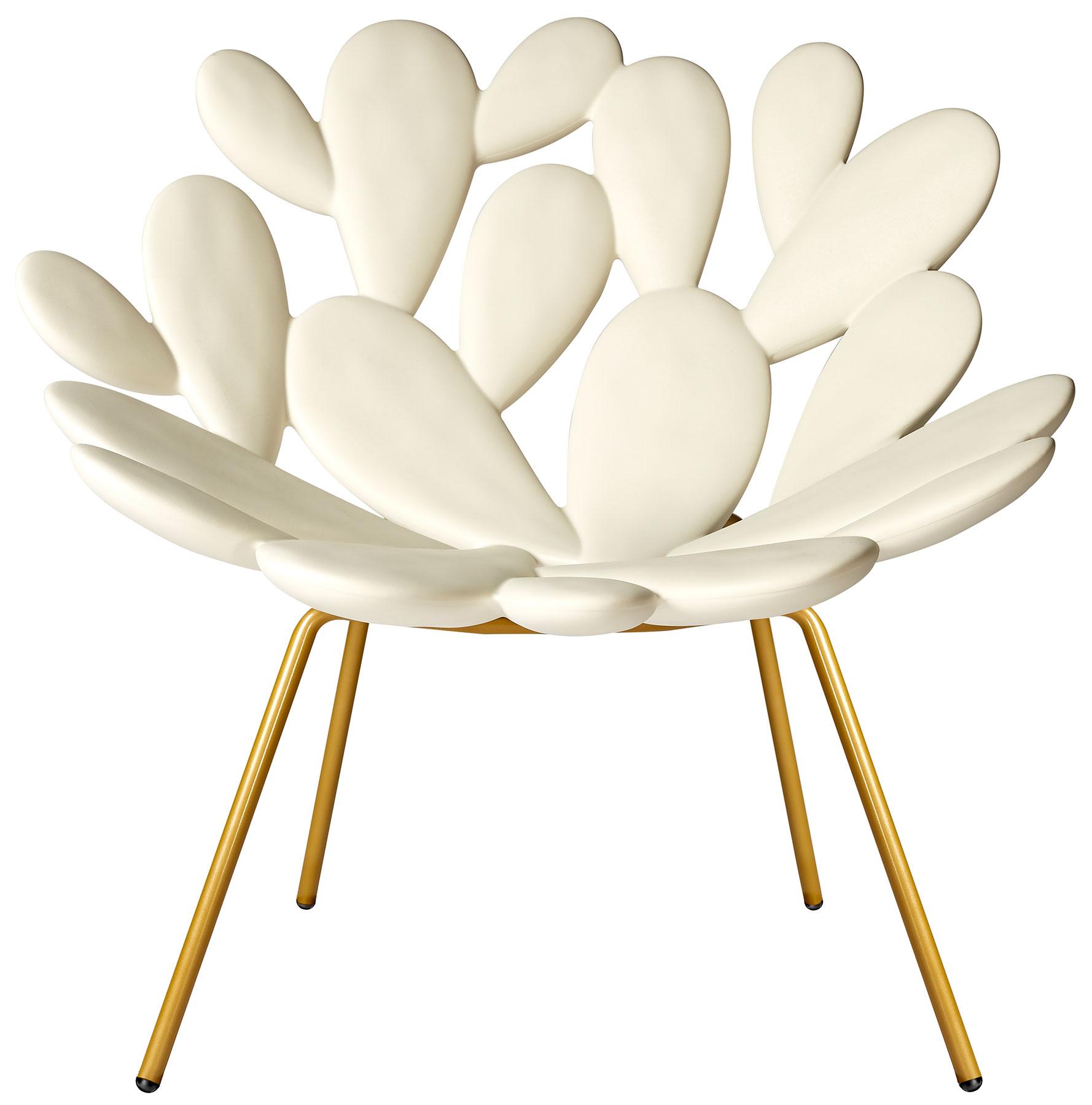 "Designer-Stuhl ""Filicudi weiß"" (In- und Outdoor) - Design Marcantonio"