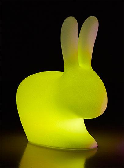 """LED-Designerlampe """"Rabbit"""" (große Version, Outdoor) mit Farbwechsel - Design Stefano Giovannoni"""