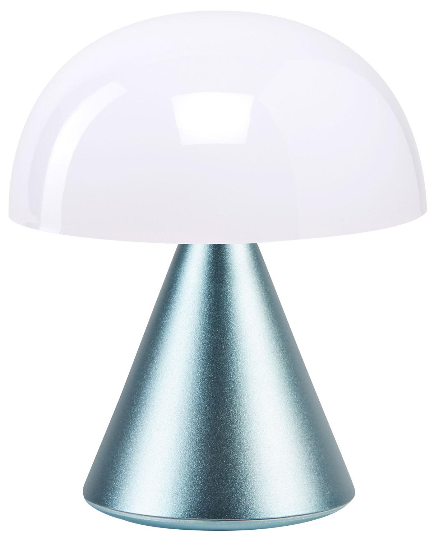 "Kabellose LED-Dekoleuchte ""Mina"" (Version Metallic Hellblau), dimmbar"