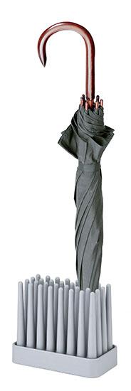 "Schirmständer ""PRATO"", Version grau - Design Naoki Tereda"