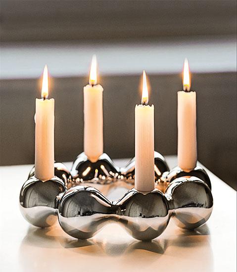 "Kerzenleuchter ""Pearl"" (ohne Kerzen)"