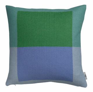 "Kissen ""Syndin blau/grün"" im Bauhaus-Stil - Design Kristin Five Melvær"