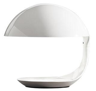 """LED-Tischleuchte """"Cobra"""", Version in Weiß - Design Elio Martinelli"""