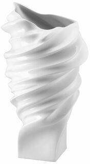 """Porzellanvase """"Squall weiß"""" (groß, Höhe 40 cm) - Design Cédric Ragot"""
