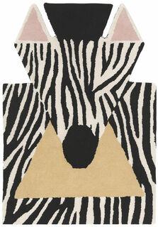 """Teppich """"Kleines Zebra"""" (100 x 70 cm) in Tierform"""