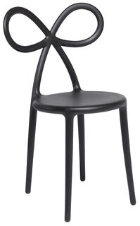 "Designer-Stuhl ""Ribbon Chair"", schwarze Version - Design Nika Zupanc"