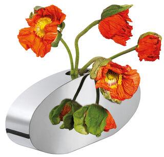 """Vase """"Donna"""" (ohne Deko), Edelstahl"""