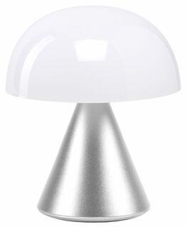 "Kabellose LED-Dekoleuchte ""Mina S"" (Version Metallic Silber), dimmbar"
