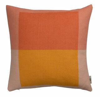 "Kissen ""Syndin orange"" im Bauhaus-Stil - Design Kristin Five Melvær"