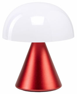 "Kabellose LED-Dekoleuchte ""Mina"" (Version Metallic Rot), dimmbar"