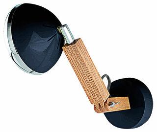 "Flexibler LED-Wandspot ""Mr. Volter"", schwarze Version"