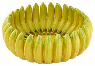 "Keramikschale ""Banana Madeira"" - Design Nini Andrade Silva"