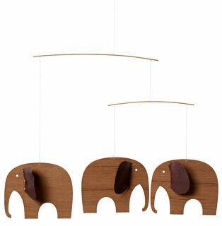 """Decken-Mobile """"Elefantenbabys"""""""