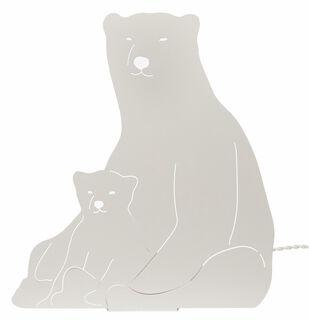 "Tisch- / Wandlampe ""Eisbären"""