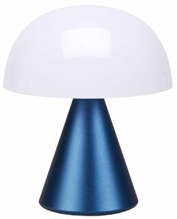 "Kabellose LED-Dekoleuchte ""Mina M"" (Version Metallic Dunkelblau), dimmbar"
