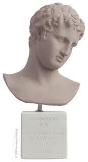 "Büste ""Marathon Boy light grey"""