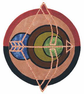 """Teppich """"Sternzeichen Schütze"""" (23.11.-21.12.) (Ø 100 cm)"""