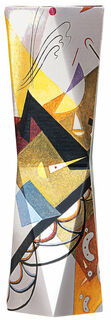 "SNUG.VASE HIGH: ""Wassily Kandinsky - Auf Weiß 2"" (1923)"