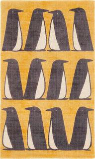"""Teppich """"Pinguin gelb"""" (groß, 120 x 180 cm)"""