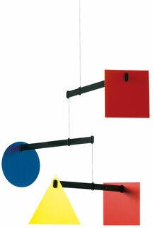 """Decken-Mobile """"Bauhaus"""", kleine Version"""