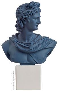 """Büste """"Apollo dark blue"""""""