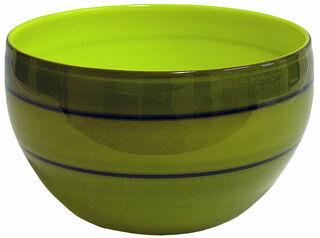 "Glasschale ""Symphony in Green"""