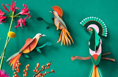 studio ROOF: Fantasievolle 3D-Kunst aus Karton