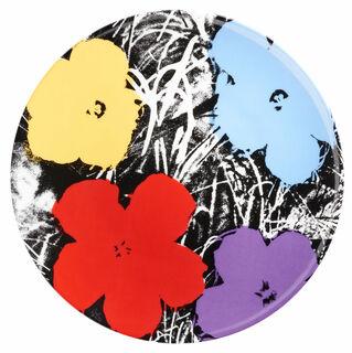 "Porzellanteller ""Flowers"" (Bunt)"