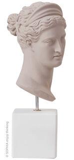 "Büste ""Artemis powder grey"""