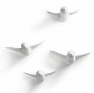 """Deko-Objekte """"Flying Birds"""", 4er-Set"""