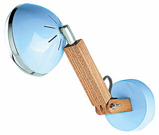 "Flexibler LED-Wandspot ""Mr. Volter"", blaue Version"
