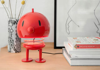 """LED-Tischlampe """"Bumble XL"""", Version in Rot, dimmbar - Design Gustav Ehrenreich"""