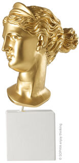 "Büste ""Artemis gold"""