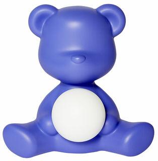 "Kabellose LED-Tischleuchte ""Teddy Girl"", violette Version - Design Stefano Giovannoni"