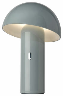 "Kabellose LED-Tischleuchte ""Svamp grau"", dimmbar"