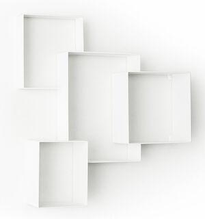 "Wandregal ""Cloud Cabinet"", Version in Weiß"
