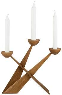 "Kerzenleuchter ""Candletree"" (ohne Kerzen), Version aus Eichenholz"