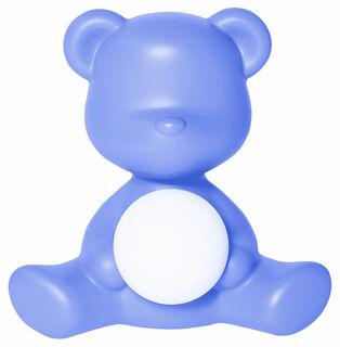 "Kabellose LED-Tischleuchte ""Teddy Girl"", hellblaue Version - Design Stefano Giovannoni"