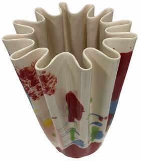 "Keramikvase ""Lakenvaas colored"" - Design Simone Post"