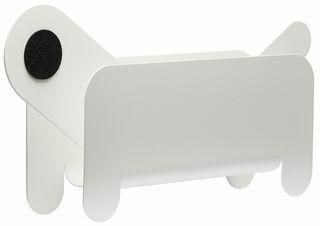 """Zeitschriftenhalter """"Paper Pet"""", Version in Weiß"""