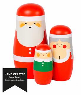 """Matryoshka """"Weihnachten"""" - Design Benjamin Hansen"""