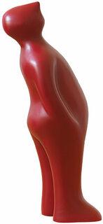 "Keramikfigur ""The Visitor"" (große Version, Höhe 75 cm, rubia)"