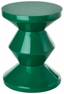 """Hocker / Beistelltisch """"Zig Zag Emerald Green"""""""