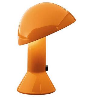"""LED-Tischleuchte """"Elmetto"""", Version in Orange - Design Elio Martinelli"""