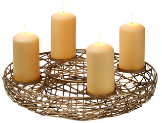 "Adventskranz ""Tahoma"" (ohne Kerzen)"