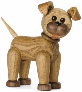 """Holzfigur """"Happy the Dog"""" - Design Chresten Sommer"""