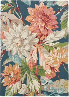 """Teppich """"Dahlien"""" (mittelgroß, 240 x 170 cm)"""