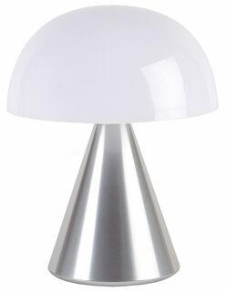 "Kabellose LED-Dekoleuchte ""Mina L"" (Version Metallic Silber), dimmbar"